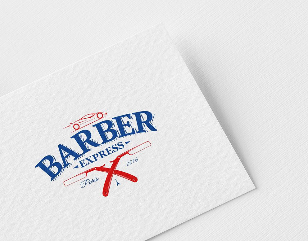 creation logo barber