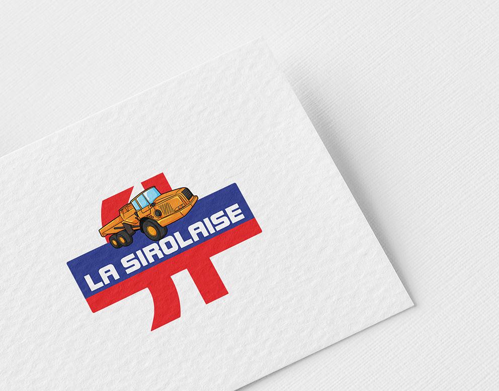 logo dessin constructeur batiment