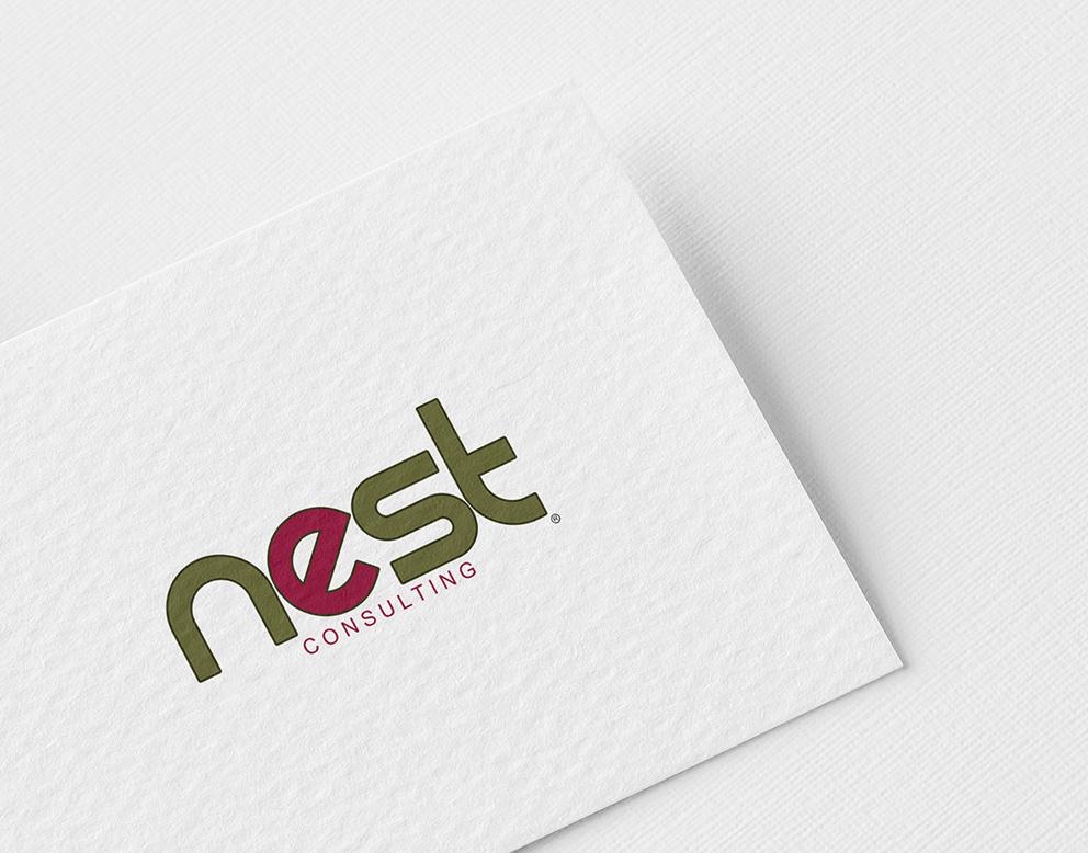 logo consulting vert bordeaux