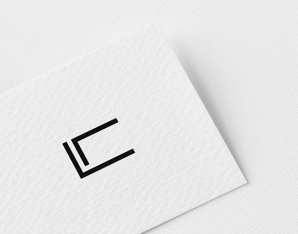 logo noir blanc luxe