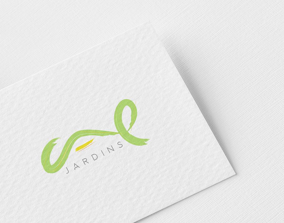creation logo paysagiste vert
