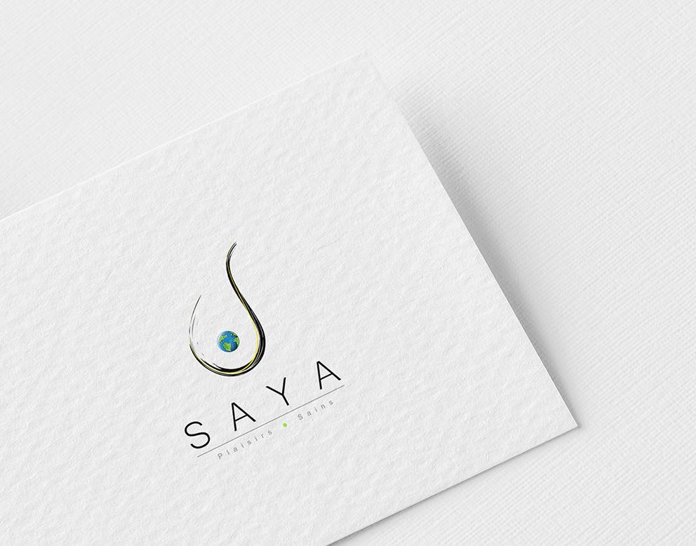 logo restaurant luxe pinceau monde