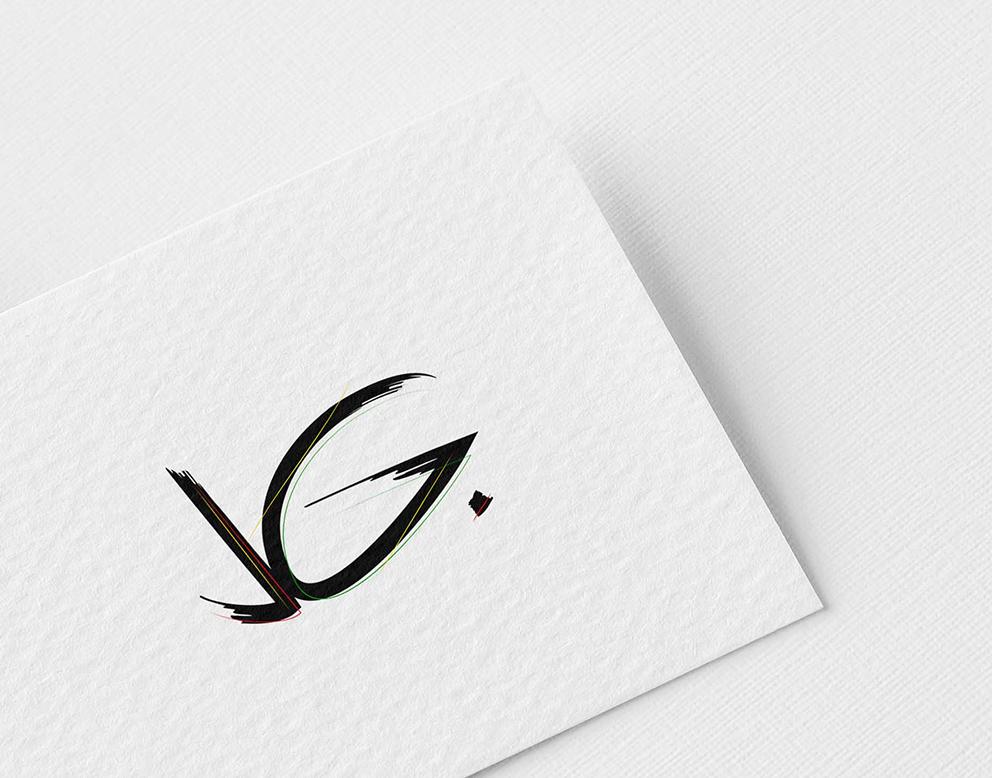 logo creation restauration signature noire