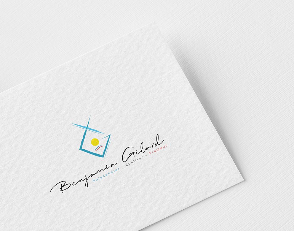 creation logo poissonnerie