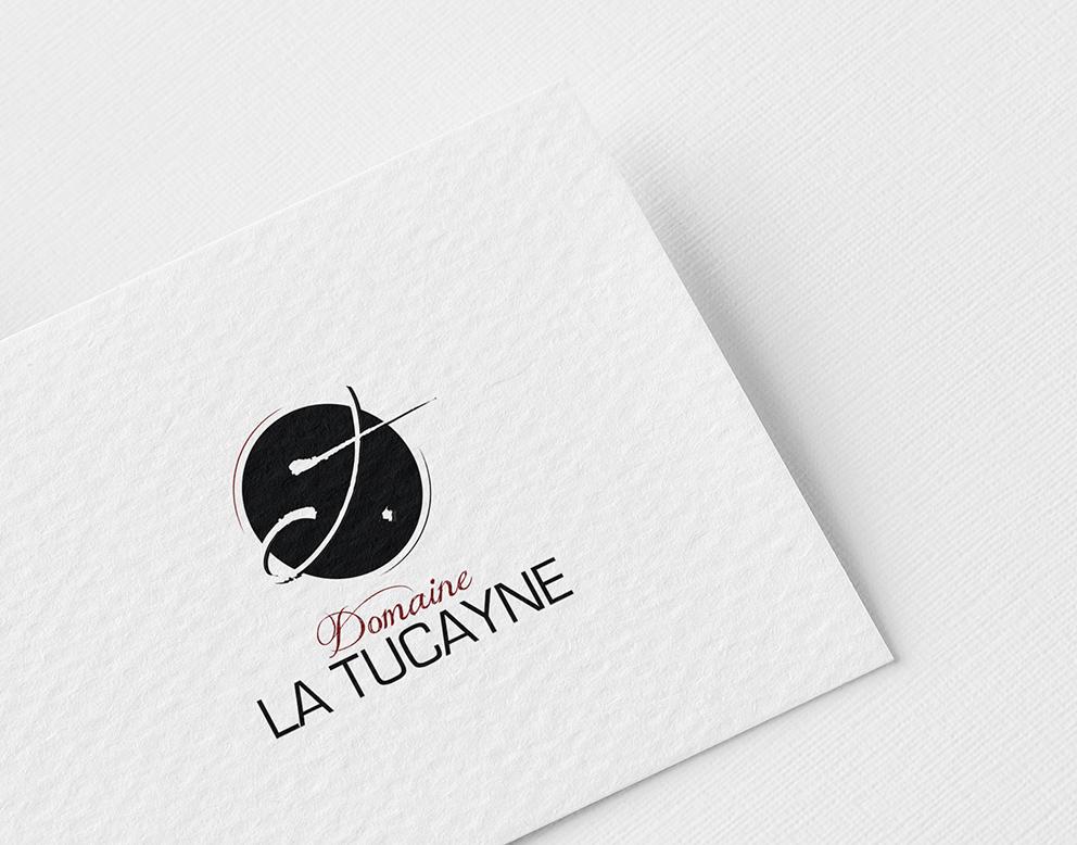 vin tucayne logo vectoriel rond