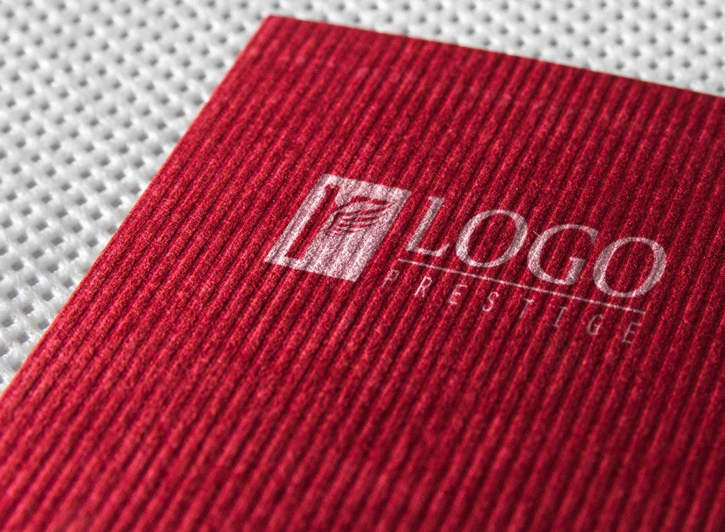 logo prestige blanc rouge