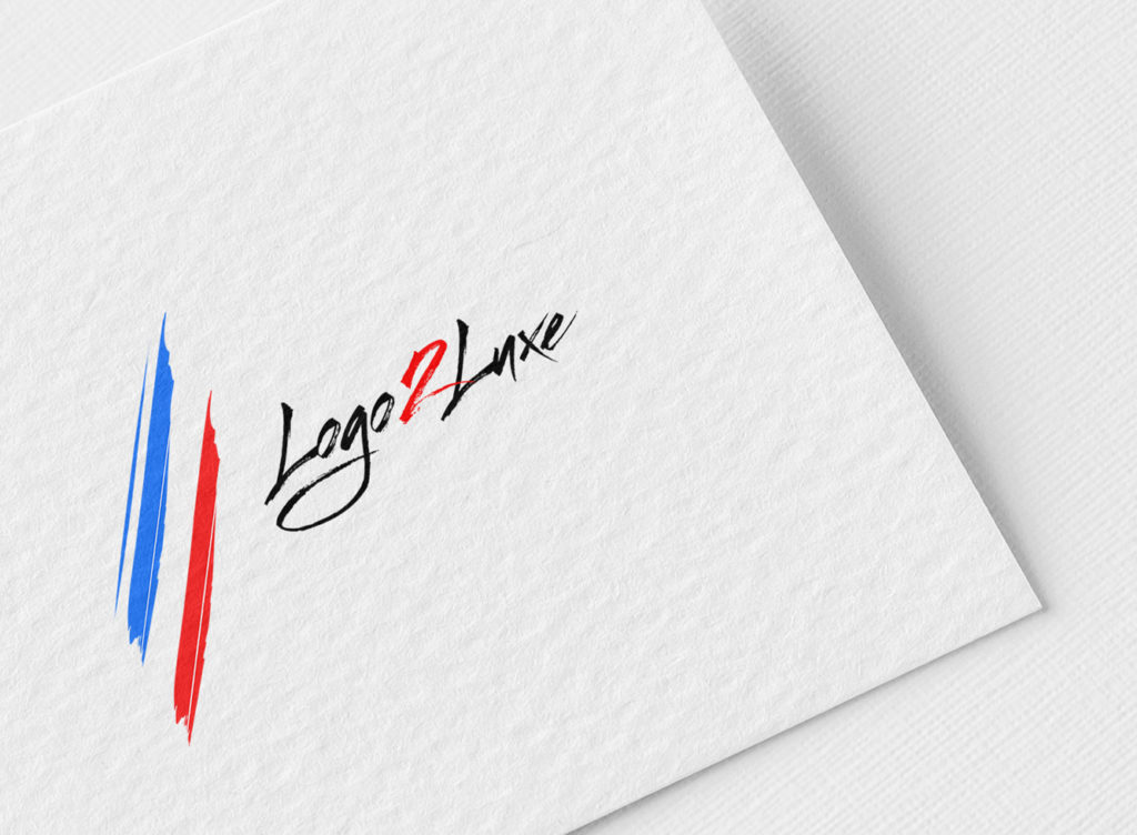logo luxe france pinceau