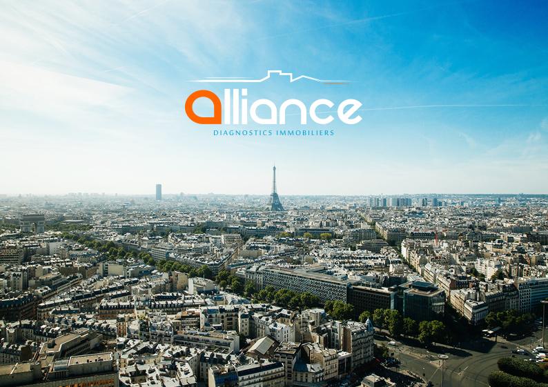 logo immobilier paris ville